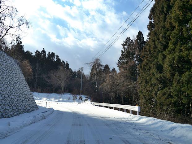 坂の貝峠への道 その2