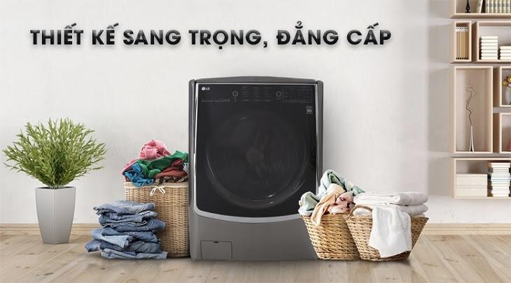 Máy giặt sấy LG dòng TT Refresh