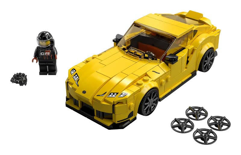 Contenido de LEGO® 76901 Toyota GR Supra