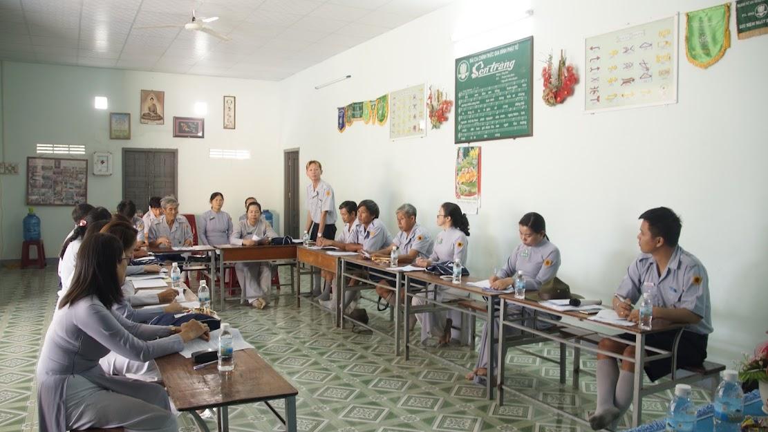 Sinh hoạt Hội đồng Huynh trưởng cấp Tập lần 1 – năm 2021