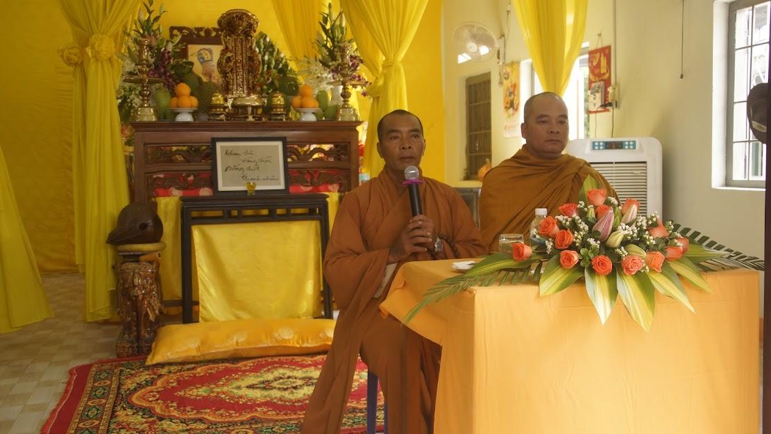 Lễ tưởng nguyện Hòa thượng ân sư đạo hiệu Thích Đức Lưu