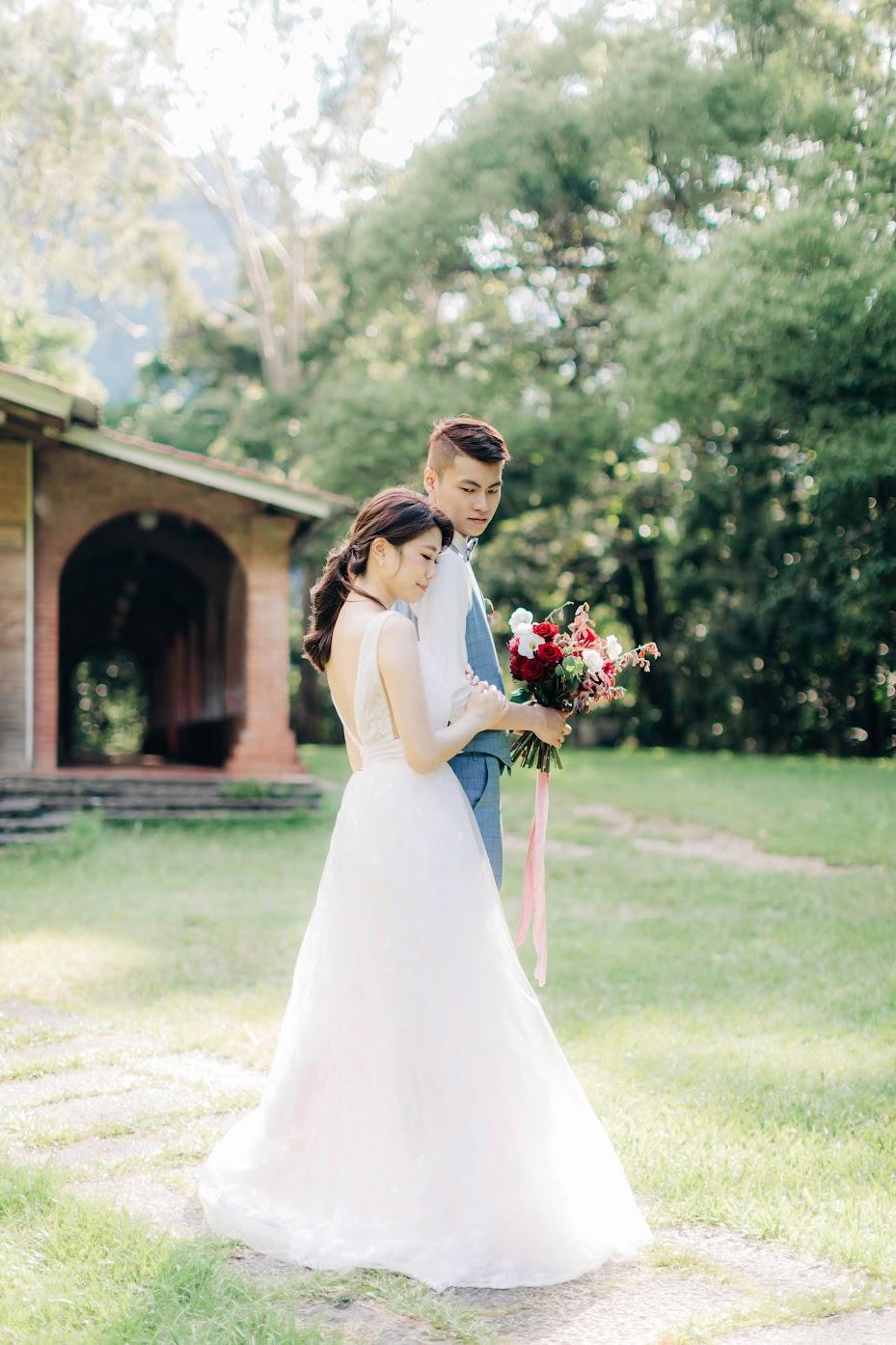 惠蓀林場婚紗   Jeff + Emily Engagement   森林系的美式逐光婚紗