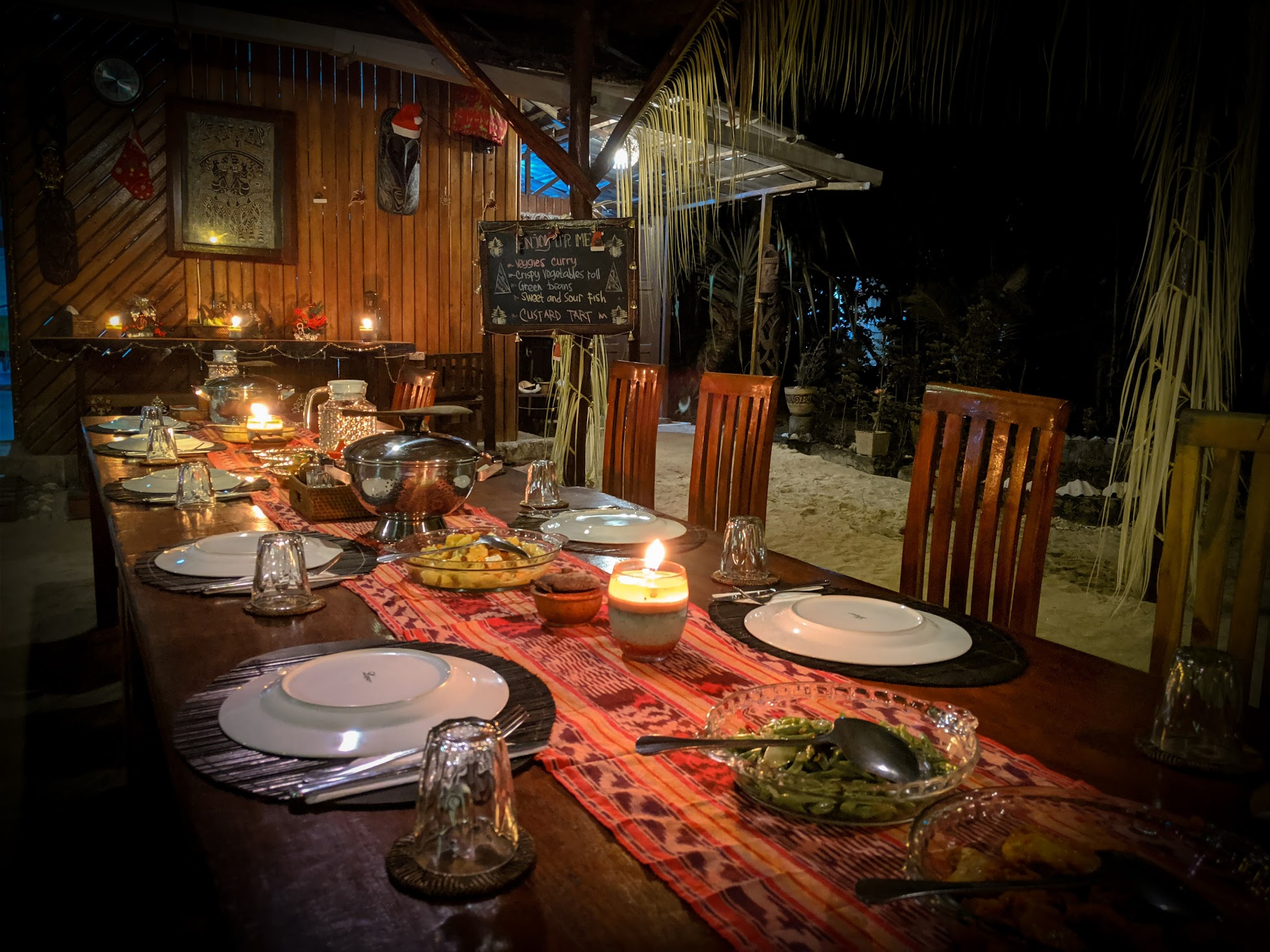 Dinner at Biodiversity Eco Resort