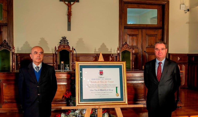 Misericórdia de Lamego agraciada com a Medalha de Ouro da Cidade