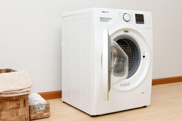 Máy giặt cửa trước có thiết kế đẹp mắt và thời trang