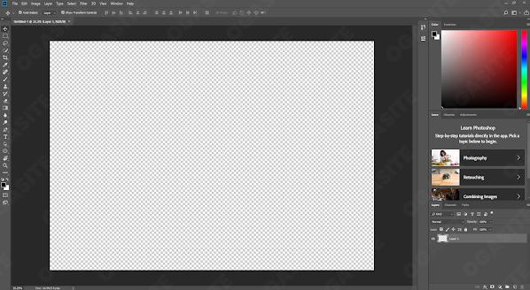 Hasil dari Background Transparent