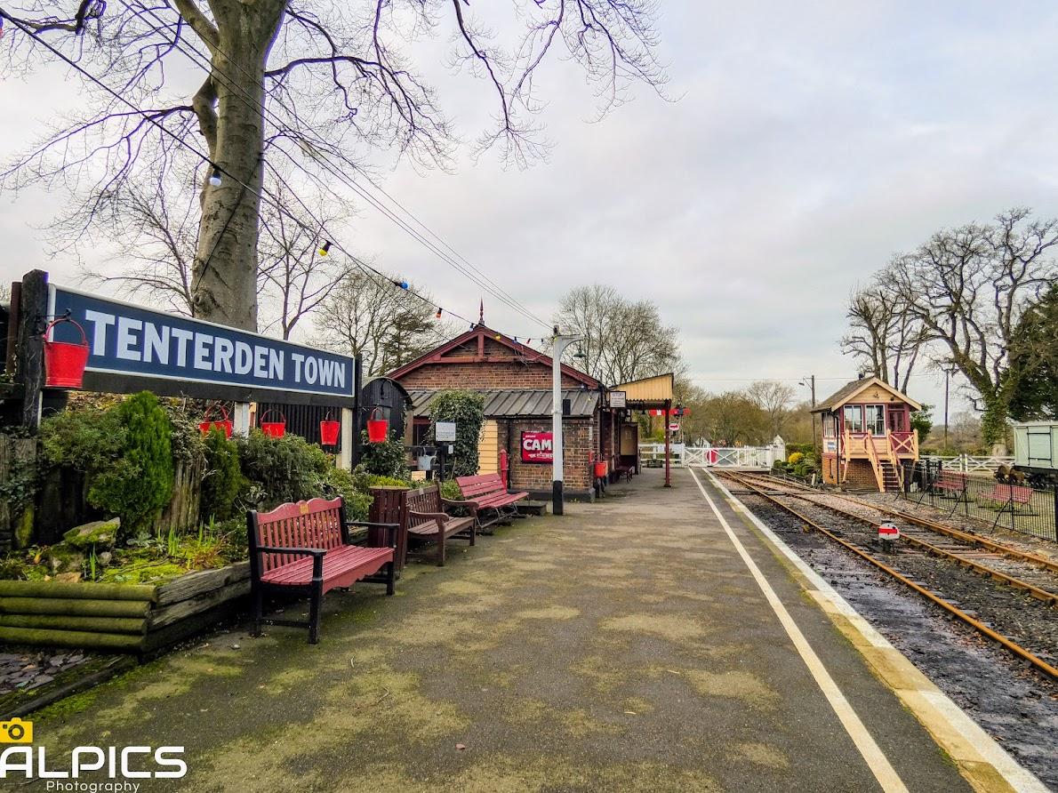 Tenterden Heritage Trail - Tenterden Town Station