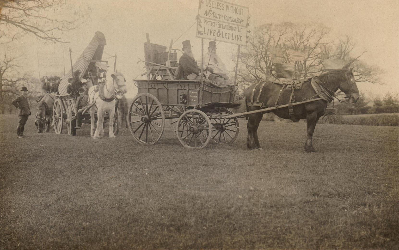 Tenterden Hop Demonstration 1908