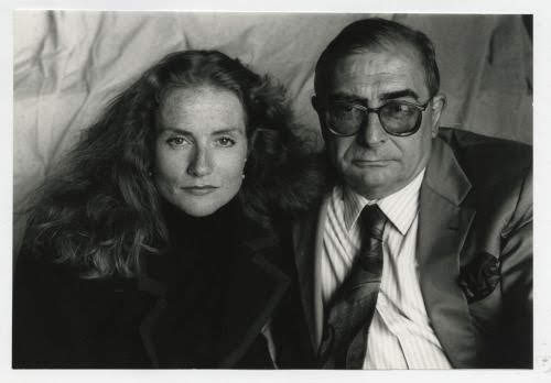 Claude Chabrol y Isabelle Huppert