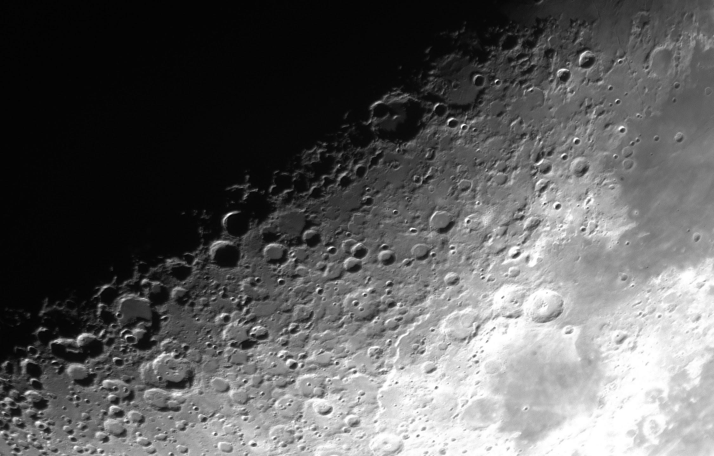 本日は「月面X」が見られました。