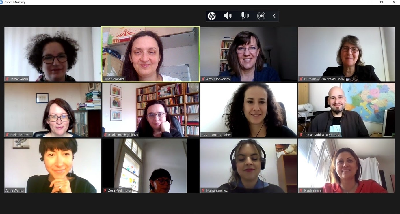 Účastníci medzinárodného workshopu k projektu DESIRE