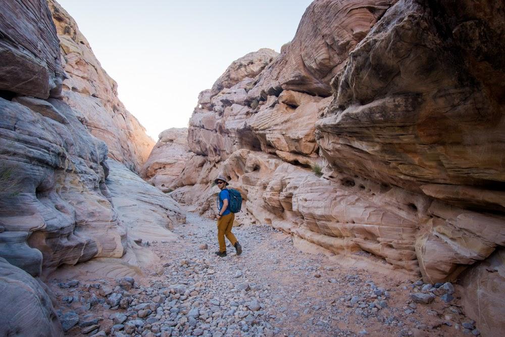 entering canyon