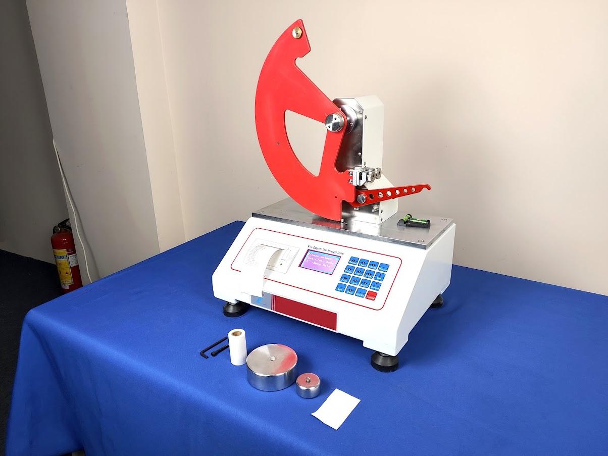Elmendorf Tear Tester for Paper and Cardboard Tear Strength Test