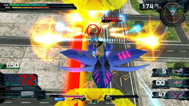 キュベレイMk-II(プル・ニュータイプ能力) 後特殊格闘