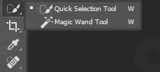 Menggunakan Quick Selection Tools