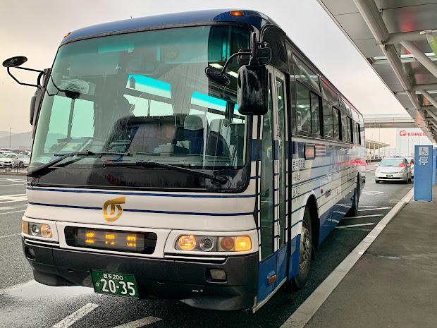 花巻空港線特急バスに乗ってきました