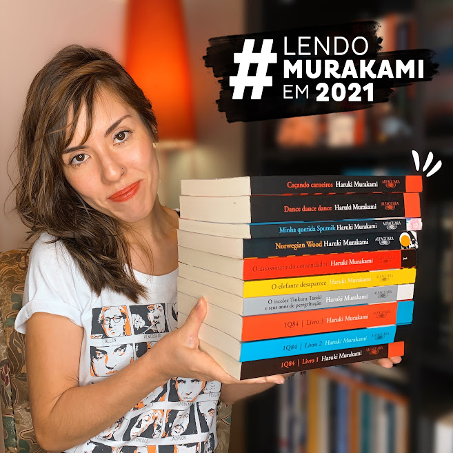 Lendo Murakami em 2021