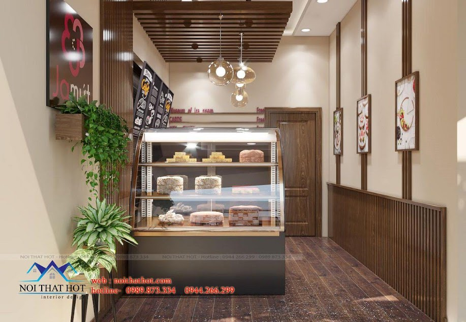 mẫu cửa hàng bánh ngọt