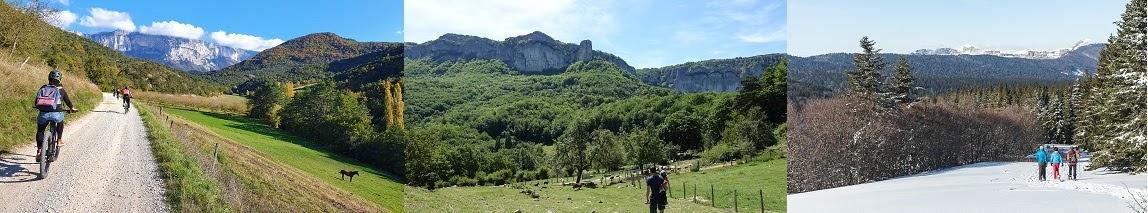 La Maison Zéro, Activités externes. Au fil des saisons, les paysages et les ambiances sont magiques, les activités s'adaptent entre montagne et Provence !