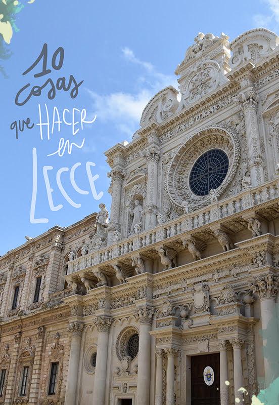 que ver y hacer en Lecce