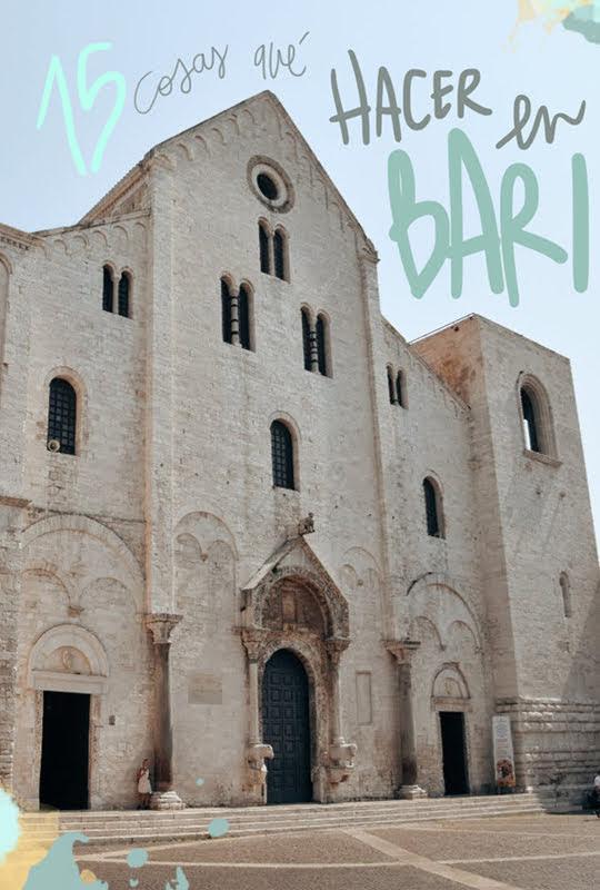 que ver y hacer en Bari