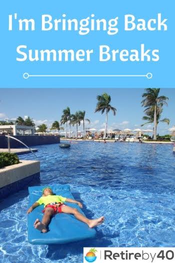 Estou trazendo de volta as férias de verão!