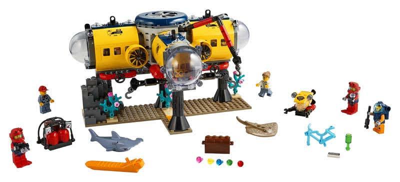 Contenido de Lego® 60265 Océano: Base de Exploración