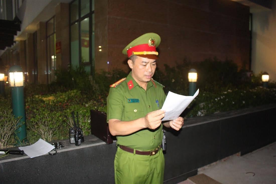 Trung tá Nguyễn Văn Sơn, Phó trưởng phòng nhấn mạnh nhiệm vụ đối với các lực lượng tham gia tuần tra vũ trang