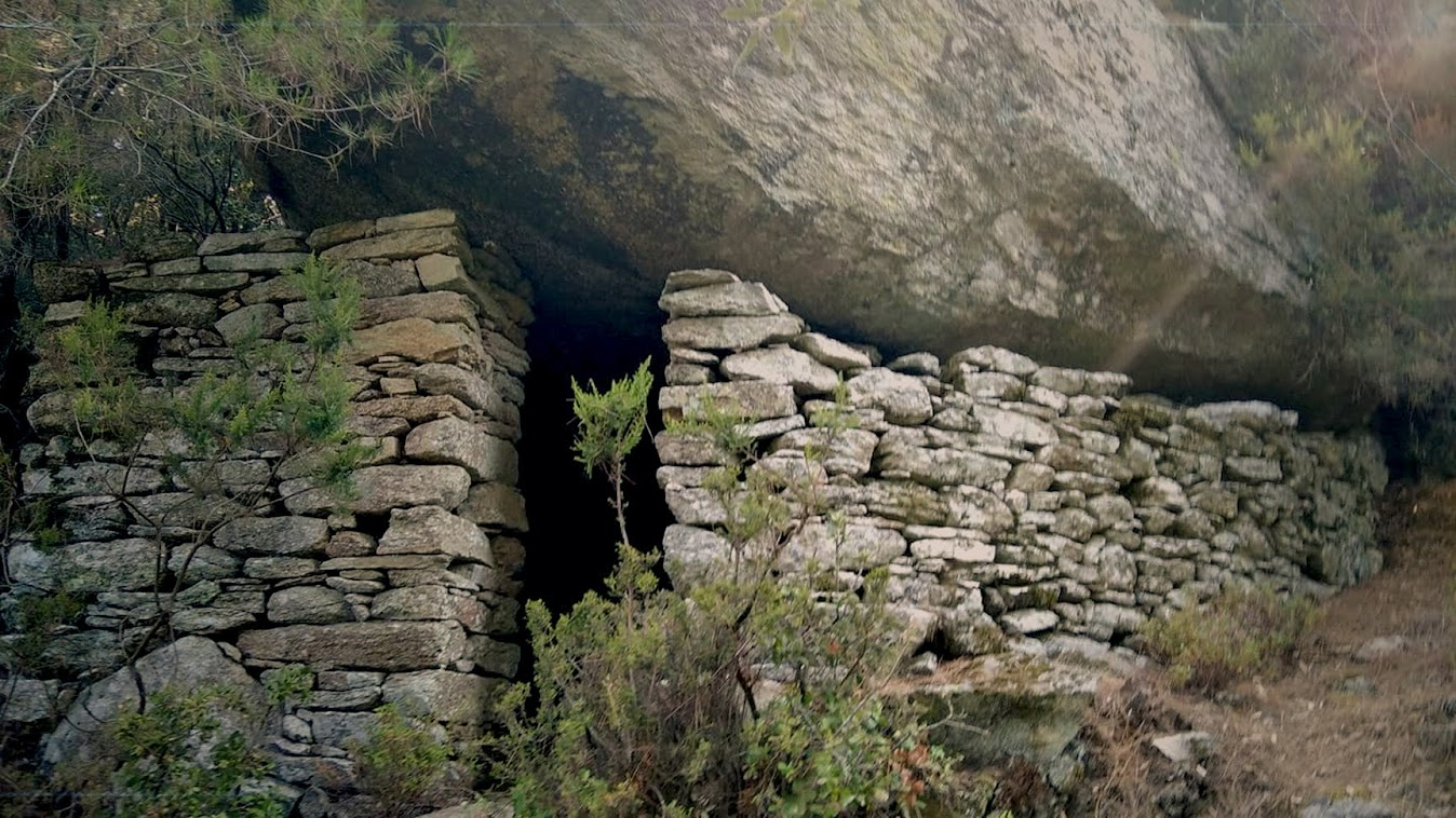An old shepherd's shelter