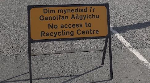 Potters recycling to close for firebreak