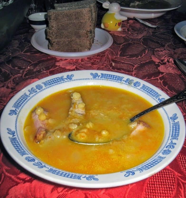 Суп простой. Гороховый.
