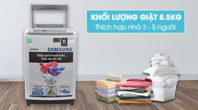Máy giặt Samsung WA82H4200SW/SV 8.2 kg