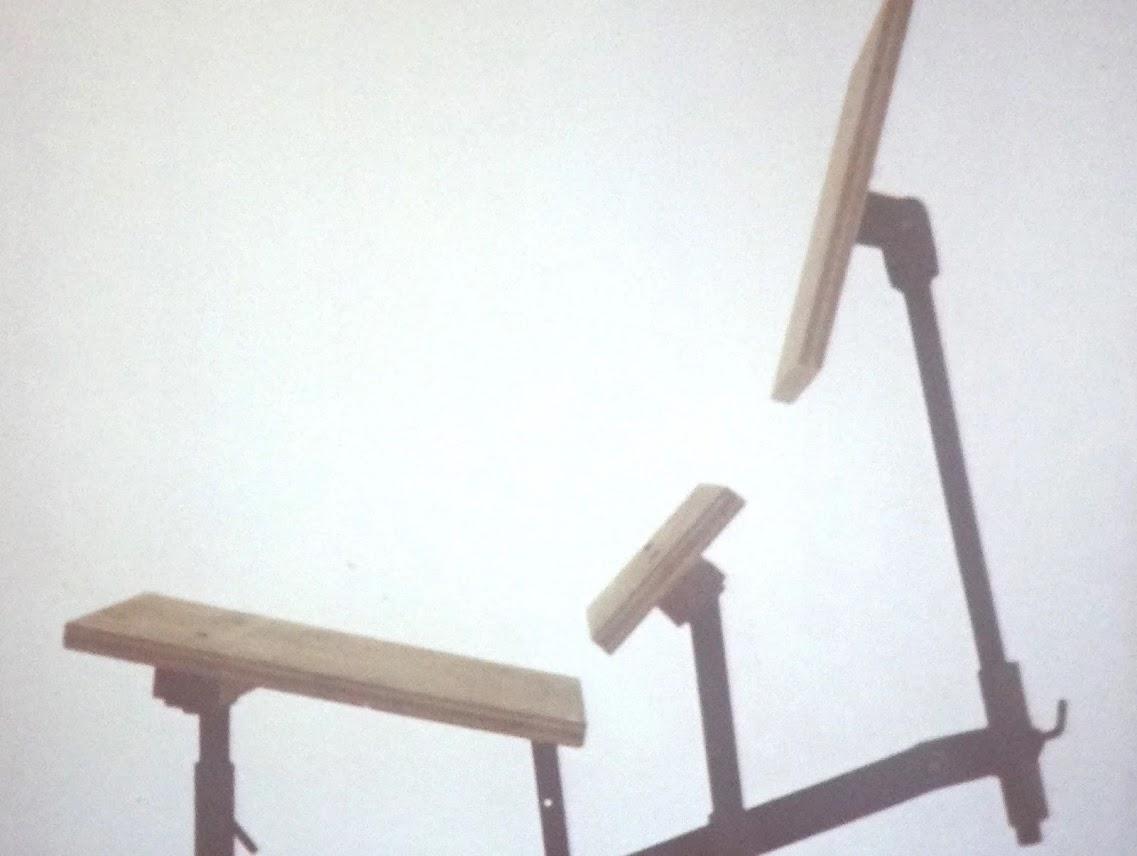 А это устройство для проверки эргономики будущего кресла/дивана