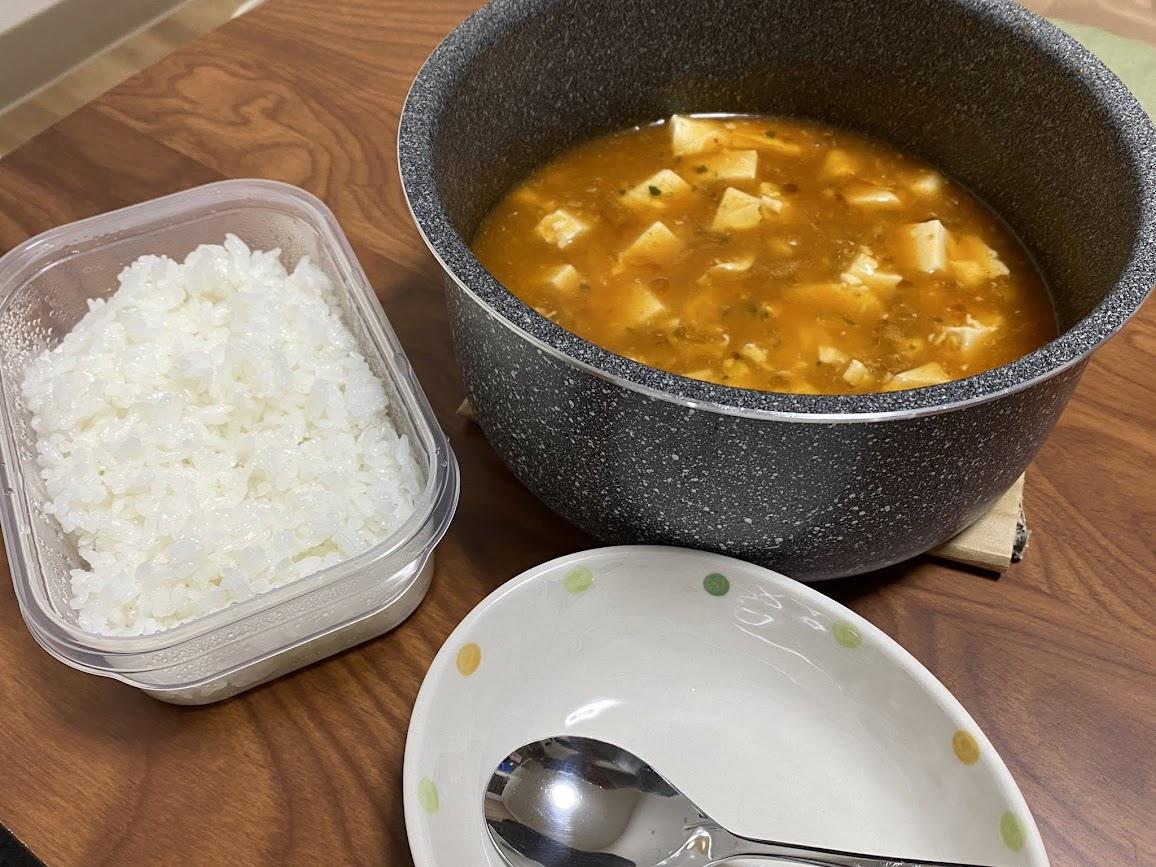 北のななしマーボ豆腐