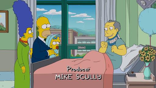 Los Simpsons 28x21  Ciudad Perro