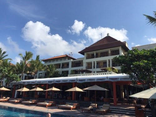 The Legian Bali(ザ・レギャン・バリ)の外観あれこれ。【2019年末・バリ島年越し記録:07】