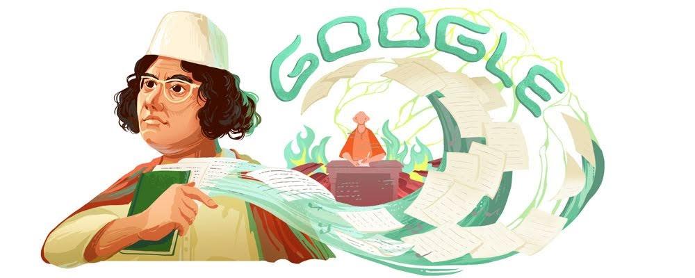 kazi nazrul islam google doodle