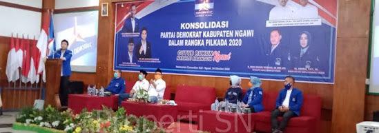 Hisil hitung cepat Pilbup Ngawi tahun 2020