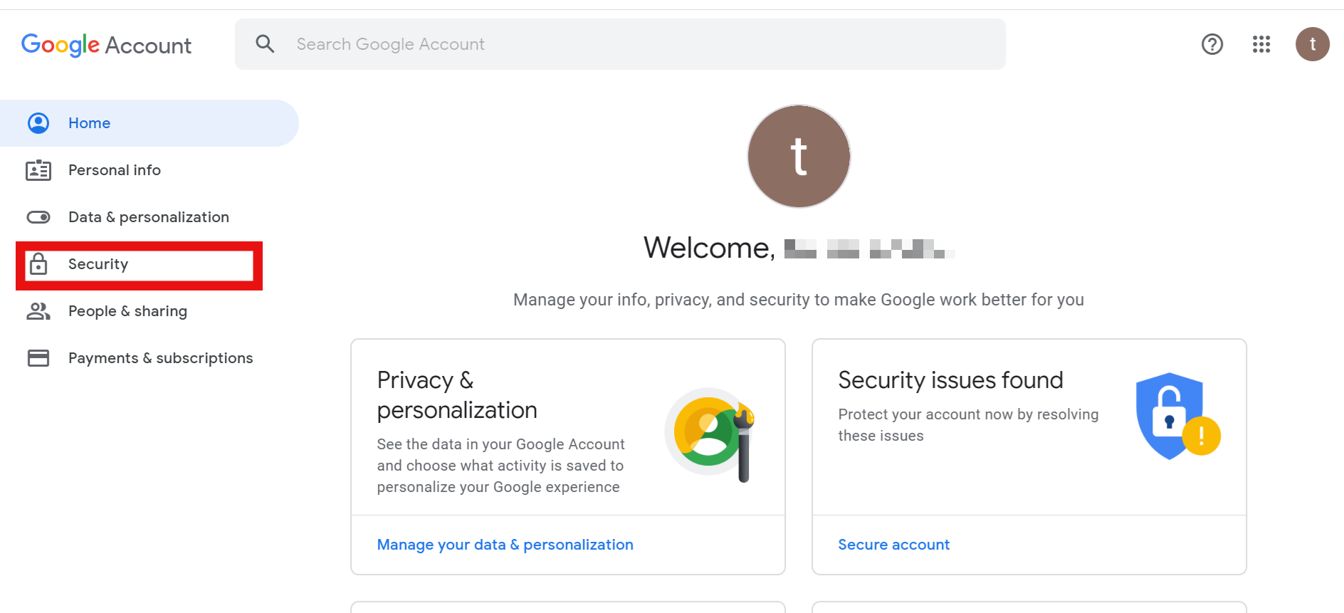 image account security
