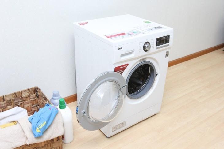 Nhược điểm máy giặt cửa trước cần nhiều không gian