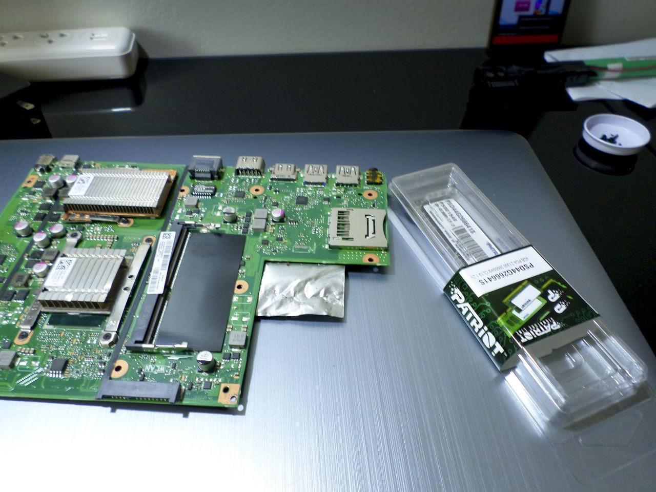 Placa madre de laptop