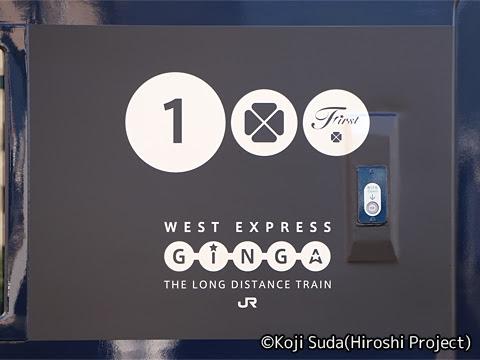 JR西日本 117系「WEST EXPRESS銀河」 出雲市駅にて_05
