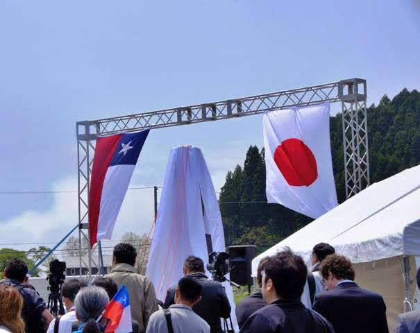 モアイ像贈呈記念式典から(1)