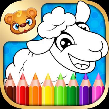 【付費app評測】123 Kids Fun Coloring Book (適合 5 歲或以下兒童)