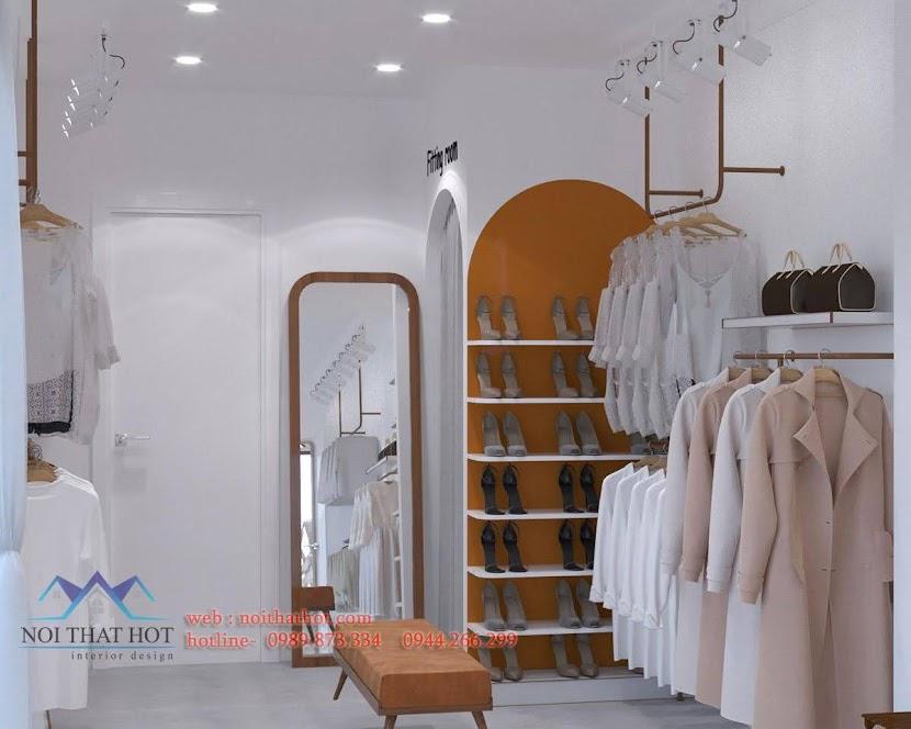 Thiết kế shop quần áo Hàn Quốc