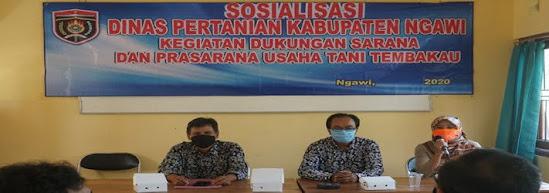 Dinas pertanian kabupaten Ngawi jawa timur
