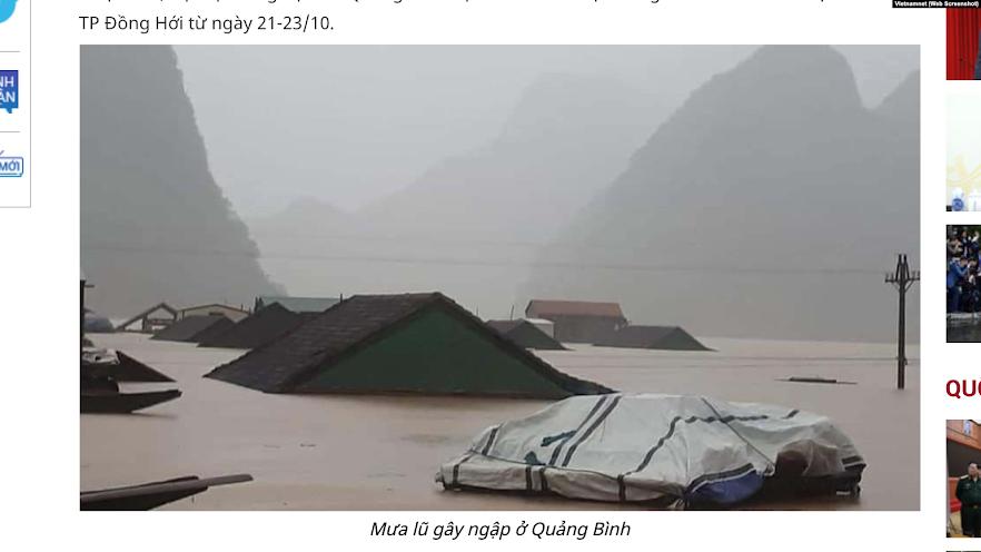 Thủy điện và mưa lũ miền Trung