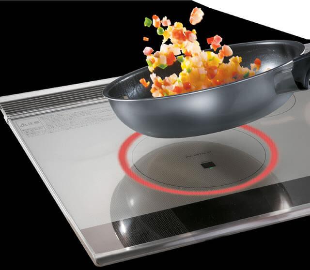 Công nghệ ECONAVI được ứng dụng trên bếp từ Panasonic