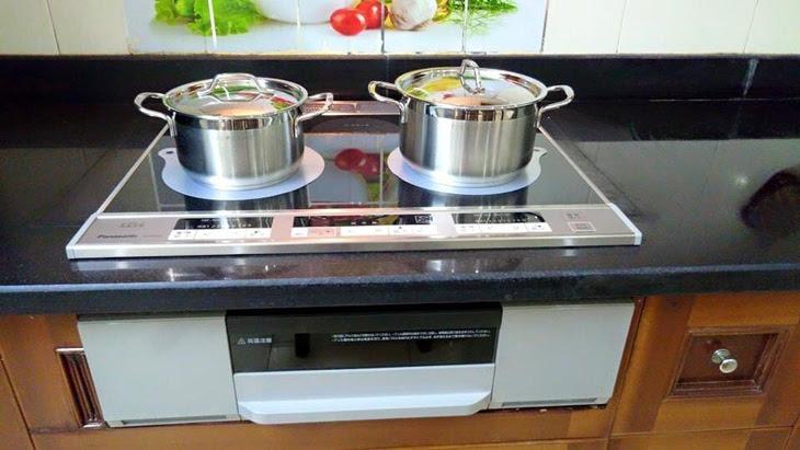 bếp từ đôi của Panasonic