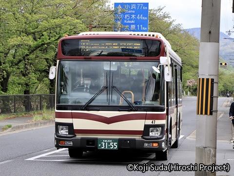 京都バス 3155